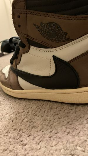 Travis Scott Jordan 1 (authentic) size 10 for Sale in Silver Spring, MD