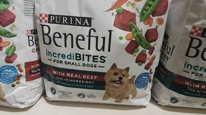 Purina beneful incrediBites for small dogs real beef for Sale in Kennesaw, GA