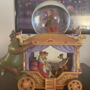 Disney Robin Hood 35th Anniversary Snow Globe for Sale in San Bernardino, CA