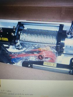 New 12 V. Winch for Sale in Lockport,  IL