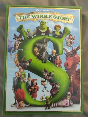 Shrek The Whole Story DVD for Sale in Katy, TX