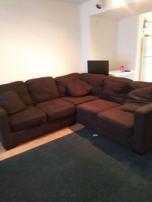 Cross section living room couch for Sale in Manassas, VA