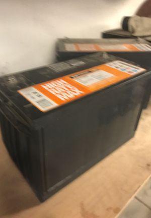 Batteries 12V like new for Sale in Murrieta, CA