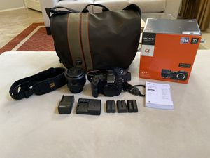 Sony A77 SLT Digital Camera + Accessories for Sale in Encinitas, CA