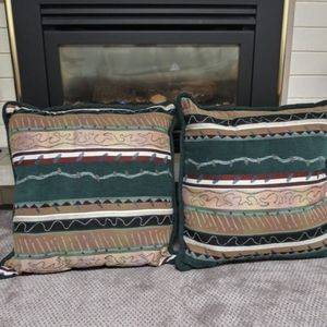 COLORFUL LARGE OVERSTUFFED PILLOWS for Sale in Appleton, WI