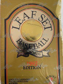 Leaf Set Baseball Cards Ser. 2 '92 Sealed 36 Packs for Sale in Beaverton,  OR