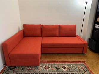 Sleeper sectional,3 seat w/storage for Sale in Boston,  MA