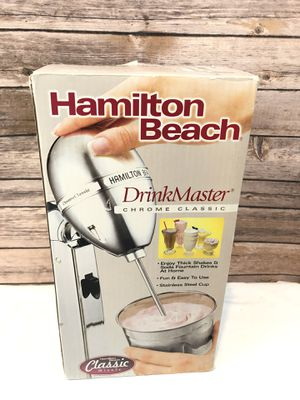 HAMILTON BEACH DrinkMaster Chrome Classic Model 730C Shakes Frozen Blender New for Sale in Owings Mills, MD