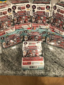 2020 NFL Panini Contenders Blasters And Hangar for Sale in Olympia Fields, IL