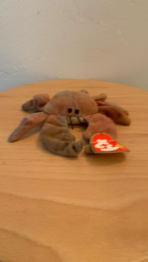 Ty beanie babies Rare (Claude) beanie baby bear. Collectible rare kids toys cheap valuable special plushie deal sell for Sale in El Cajon, CA