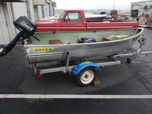 1972 Valco, aluminum, fishing boat for Sale in Boulder City, NV