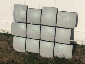 Hand Painted Iridescent Sharkskin Gray Wall Decor for Sale in Pittsburgh, PA
