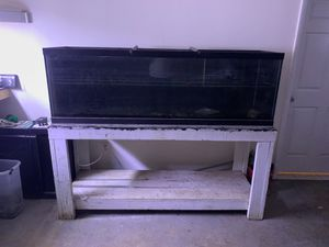 125 gallon tank and stand for Sale in Virginia Beach, VA