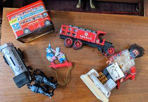 Antique Toys Eskimo Doll Texaco Trucks for Sale in Seattle, WA