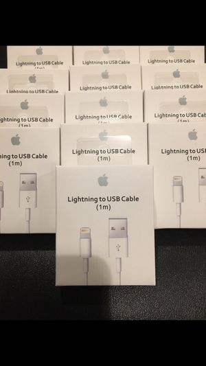 APPLE USB CHARGING CABLE 1M (BRAND NEW) for Sale in Monterey Park, CA