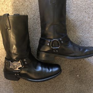 Harley Davidson Harness Motorcycle Boots - Size 10 for Sale in San Dimas, CA