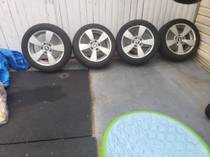 Bmw rims with tires. for Sale in Queens, NY