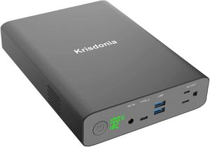 Krisdonia AC Outlet Portable Charger 60000mAh Laptop Power Bank with AC Outlet for Sale in Los Angeles, CA