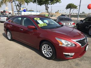 2014 NISSAN ALTIMA S $1,000 DOWN PAYMENT OK BAD CREDIT OK NO CREDIT OK 1ST TIME BUYERS REPOS BANKRUPTCY EZ APPROVE ANYONE for Sale in Westminster, CA
