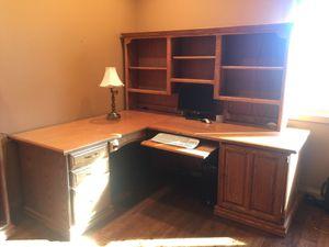 Oak desk made In Bozeman for Sale in Bozeman, MT