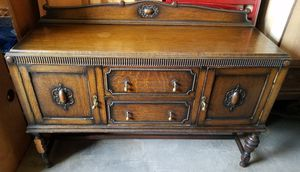 Antique Jacobean Buffet for Sale in Indianapolis, IN