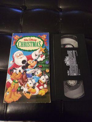 Vintage Walt Disney Christmas Vhs for Sale in Gaithersburg, MD