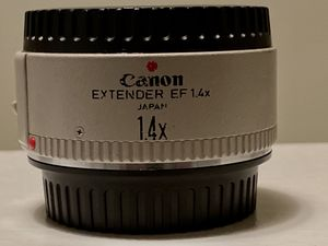 Canon 1.4x teleconverter for L series USM & IS lenses for Sale in Jupiter, FL