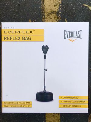 EVERLAST Everflex Reflex Punching Bag for Sale in Salinas, CA