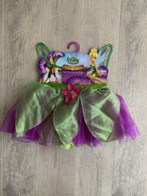 Tinker bell costume for 3yrs and up for Sale in Silver Spring, MD