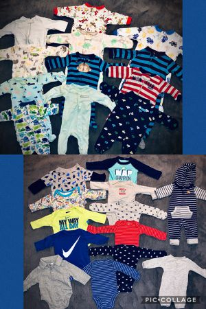 Babyboy Winter Clothes NB & 0-3M for Sale in Virginia Beach, VA
