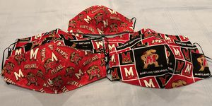 Maryland Terrapins Handmade Masks for Sale in Mount Rainier, MD