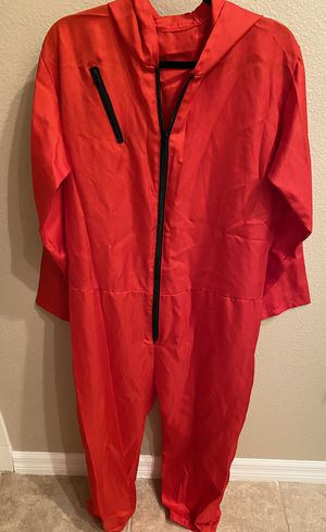 Money Heist/Casa de Papel Costume and Mask for Sale in Kissimmee, FL
