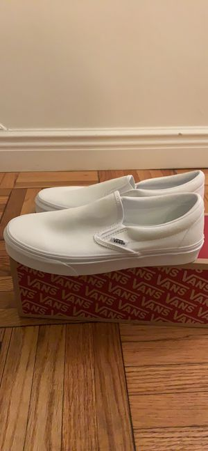 Vans White Sneakers for Sale in New York, NY