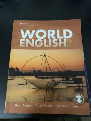 World English 2 book for Sale in Phoenix, AZ