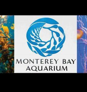 4 Monterey Bay Aquarium Guest Passes Tickets for Sale in Milpitas, CA