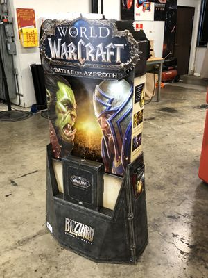 WOW Battle for Azeroth Display (brand new in box and includes assembly instructions) for Sale in Los Angeles, CA