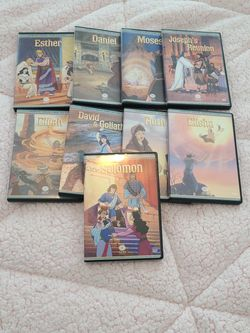 Old Testament DVD Collection for Sale in Garland,  TX