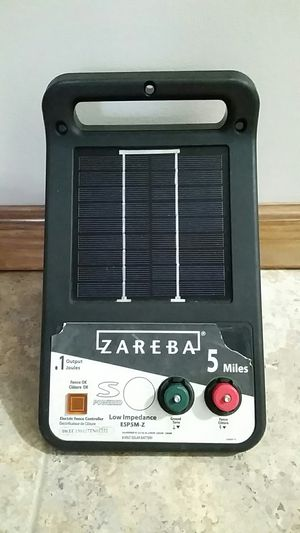 Zareba ESP5M-Z 5 Mile Solar Electric Fence Charger for Sale in Travelers Rest, SC