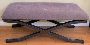 Long Black Iron Indoor Bench for Sale in Elk Grove, CA