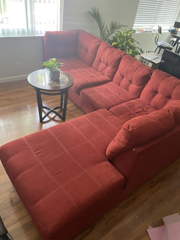 Barely Used Sectional Couch - L shaped