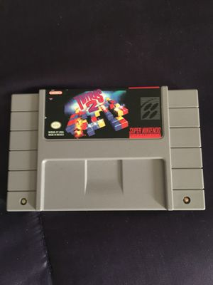 Tetris 2 Super Nintendo game for Sale in Sloughhouse, CA