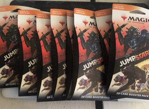Magic the Gathering Jumpstart 20-card booster packs (8 PACKS) for Sale in Miramar, FL