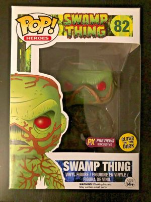 DC Funko POP! Swamp Thing #82 PX Previews Exclusive (Glows In The Dark) for Sale in Albuquerque, NM