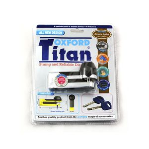 Brand New- Oxford Titan Disc Lock for Sale in Franklin, TN