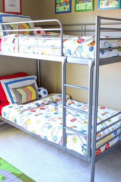Silver Bunk Beds With Mattresses for Sale in Beavercreek,  OR