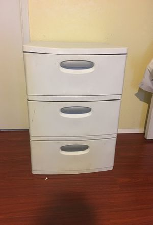 Plastic drawer for Sale in Highland, CA