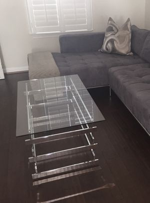 Glass Cocktail Table and Console Table for Sale in Hanover, MD