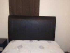 Full size bed frame and mattress for Sale in Gadsden, AL