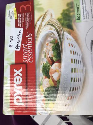Pyrex 3pcs new for Sale in Auburndale, FL