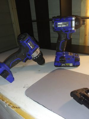 24v brushless motor Kobalt Impact and Drill for Sale in Ellabell, GA